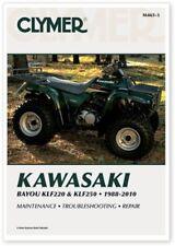 Clymer 1988-2011 Kawasaki Bayou KLF220 KLF250 Maintenance Service Repair M465-3