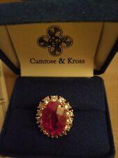 Camrose Kross  Amber Red ring