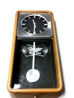 Miller high Life beer sign lighted back bar wall clock 85 motion pendulum light