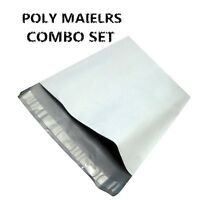 100 Poly Mailers Envelopes Shipping Bag Self Seal Plastic Bags (50 6X9+50 10X13)