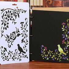 2Pcs Decorative DIY Craft Tools Stencils Stamps Album Paper Cards Scrapbooking