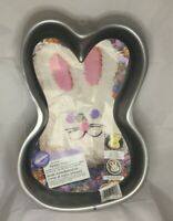 """WILTON FUNNY BUNNY CAKE PAN 14"""" x 9.5"""" x 2"""" JUST FUN 4 ALL AGES"""