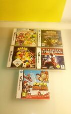 Nintendo DS replacement boxes from Germany. no games boxes only 5 pcs