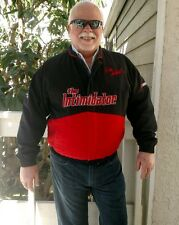 "Dale Earnhardt ""The Intimidator"" Mens XL black & red jacket NASCAR Winston Cup"