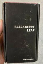 Blackberry Leap. Unlocked. Brand New. Never Used. Free Ship. Dark Gray Color.