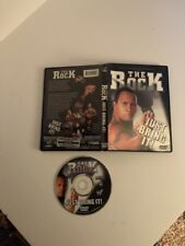 WWE WWF The Rock DVD Just Bring It 2002 2 Disc Set Complete Video VHS Tape