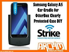 STRIKE ALPHA SAMSUNG GALAXY A5 CAR CRADLE OTTERBOX CLEARLY PROTECTED CASE DIY