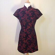 Jeanette Kastenberg Vintage Bergdorf Goodman Oriental Dress Size 8