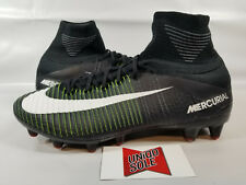 Nike Mercurial Superfly V AG Pro SAMPLE BLACK PURPLE BLUE 831955-013 sz 9 CLEATS