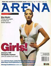 ARENA #25 TATJANA PATITZ Ellen Von Unwerth JEREMY IRONS Andy Garcia NICOLE FARHI