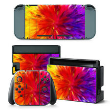 Colourful - Nintendo Switch Protective Skin 4 Pc Sticker Set - 0233