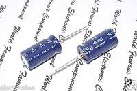 2pcs - Nichicon 220uF(220µF) 35V Bipolar Radial Electrolytic Capacitor - BP
