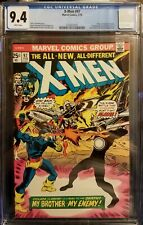 UNCANNY X-MEN 97 CGC 9.4 NM WHITE PAGES! 1ST APPEARANCE LILANDRA 1976 NEW CASE