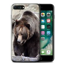 Animaux sauvages Coque Gel pour iPhone 7 Plus/Ours