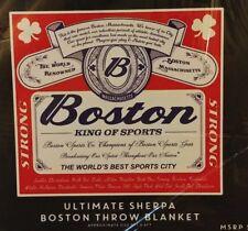 Boston King of Sports Super Soft Throw Blanket 48x60