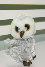 *Ty Beanie Boos ~ OWLETTE the silver grey Owl 15cm * NEW WITH TAGS!