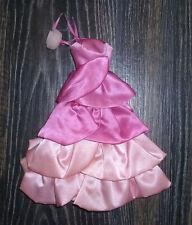 ✿ Vintage Barbie Doll Clothes Sweet Roses PJ 1983 Pink Dress ✿
