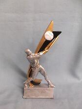 swish white Baseball trophy resin ball award male by Pdu