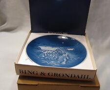 Bing And Grondahl 1982 Copenhagen Porcelain Christmas Tree Christmas Plate 9082