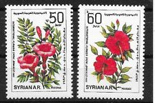 pa605 SYRIEN/ Blumen MiNr 1579/80 **