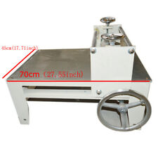 Ceramic Clay Plate Machine Slab Roller for Clay, Heavy Duty, Portable, Tabletop