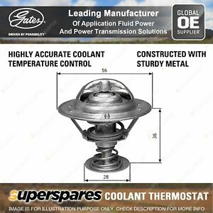 Gates Thermostat + Gaskets for Lexus GS JZS147 JZS160 IS JCE10 3.0L 1993-2005