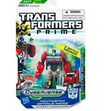 Hasbro Transformers PRIME Cyberverse Commander Asst W4 NIGHTWATCH OPTIMUS PRIME
