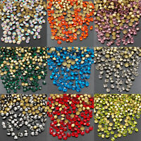 1440pcs Czech glass Crystal Rhinestones beads Pointed Back Pick Colors & Sizes