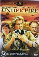 UNDER FIRE GENE HACKMAN NICK NOLTE JOANNA CASSIDY VERY RARE DVD LIKE NEW