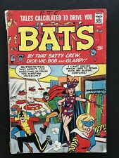 TALES CALCULATED TO DRIVE YOU BATS #1. Silver Age Radio Comics. Free Shipping
