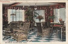 Postcard Sun Parlor Volcano House Hawaii HI