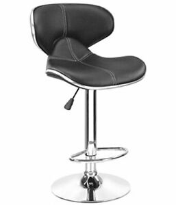 BRAND NEW UNIQUE HORSE BAR STOOL CAFETERIA CHAIR - BLACK