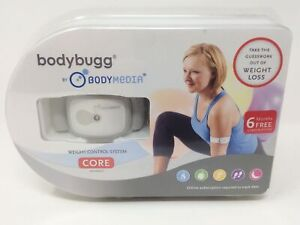 Bodybugg By Body Media Weight Loss Control System Core NEW SEALED