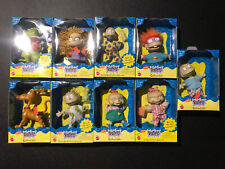 Mattel Nickelodeon Rugrats Collectible figure Set of 9 1997 New Package Vintage