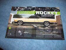 """1986 Chevy El Camino RestoMod Article """"Resilient Rocket"""""""