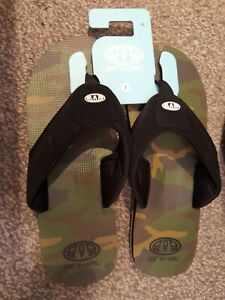 Mens Sz 7 Summer Flip Flops Holidays Sandals Shoes