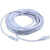 Rj45 Câble Réseau Ethernet Lan Cat5 Internet Patch Lead 10M L1D1