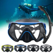Dive Mask HD Anti Fog Full Face Snorkeling Swimming Goggles For Gopro Kid Adult