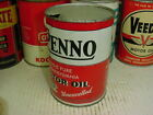 Hard+to+Find++%2A+early+1950s+era+PENNA+MOTOR+OIL+Old+Original+1+qt.+Tin+Oil+Can