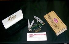 Case XX Splitback Whittler's Knife Kentucky Bluegrass Bone #099 W/Packaging Rare