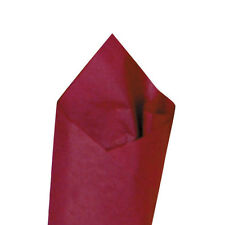 """24 Sheets / Pack 20"""" x 30"""" Claret (Red) Quality Premium Grade Color Tissue Paper"""