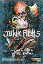 Junk Films DVD Massacre Video Shockumentaries of Tsurisaki Kiyotaka