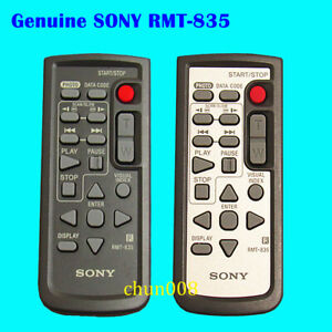 Genuine Sony RMT-835 Camcorder Remote For HDR-CX520 HDR-SR1 HDR-CX7 HDR-SR5