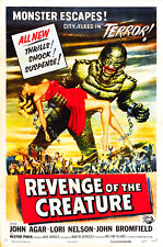 Revenge Of The Creature From The Black Lagoon Movie Poster Sticker or Magnet