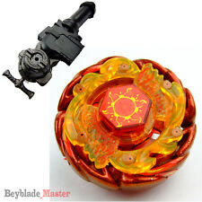 Beyblade Fusion Metal Masters BB-89 Sol (Solar) Blaze V145AS+GRIP+LR Launcher