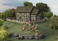 28MM SAXON CHURCH - RESIN - Painted to collectors standard.