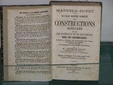 Constructions agricoles G. HEUZÉ Manuels RORET 1876