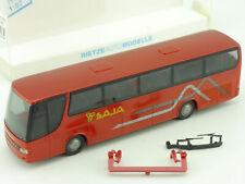 Rietze 64128 Setra S 315 HD Bus Saja Calabria Roma NEU! OVP SG 1609-18-38