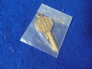 New MG Logo Series FP Key Ignition/Door Lock MGA early MGB etc