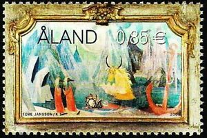 Aland 2007 (04) - Painting by Tove Janson - The Moomins
